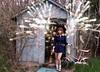 cari with wings! (messyowl) Tags: abandoned angel wings bokeh shed cari abandonment wayman yyellowbird