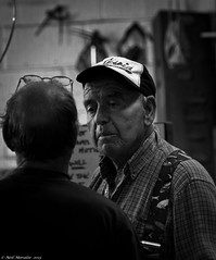 Harland and Wolf. (Neil. Moralee) Tags: street old uk portrait white man black men monochrome hat docks work photography nikon wolf ship navy streetphotography neil mature portsmouth naval engineer dockyard shipbuilding shipbuilder shipwright harland d7100 moralee neilmoralee