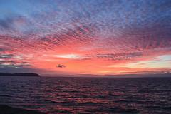 Watchet Sunset (Rosemarie.s.w) Tags: pink sunset summer england sun eos evening somerset watchet eos450d