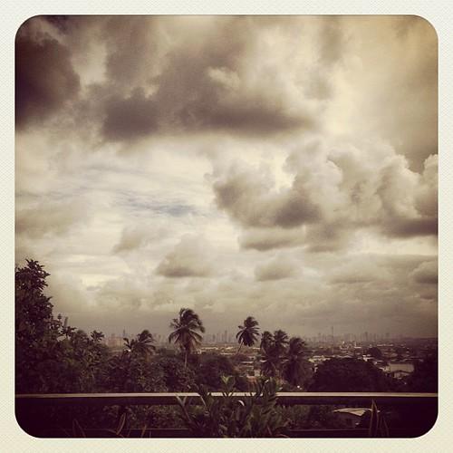 Vue du Recife. Après Debret! #recife #olinda #pernambuco #céu #nuages #nuvens #clouds