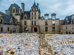 Château de Kerjean - Saint-Vougay - Finistère - Bretagne - France (y.caradec) Tags: blur france castle lumix brittany europe bretagne chateau château flou bzh finistère finistere puits pennarbed penarbed kerjean saintvougay châteaudekerjean fz200 dmcfz200