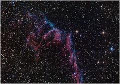 eastern veil nebula (__Aenima__) Tags: stars nikon space telescope nebula astrophotography astronomy imaging cygnus veilnebula d3100