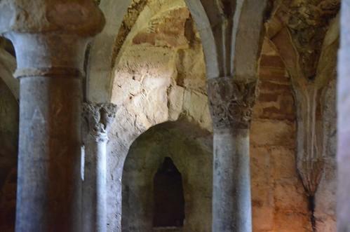 Memleben (Saxe-Anhalt), crypte de l'abbatiale - 01