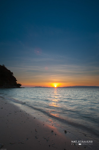 sunrise from Kanawa island