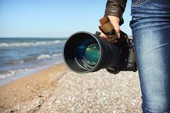 paparazzi (©Andrey) Tags: blue sea water canon lens seaside sand aqua bigma sigma jeans paparazzi bir lettonie jurkalne baltoc