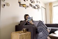 36-52 (Floris the SnapShotShooter) Tags: berlin me coffee reading tea awesome sunday lazy pyjamas photowall 52weeks bastille–thingswelostinthefire iknowihaditalreadybutstill