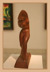 Ferdinant Opitz (1885-1960) A Dancer, 1922, wood (Sergei P. Zubkov) Tags: november sculpture art czech prague praha fair palace trade 2011 palc veletrn