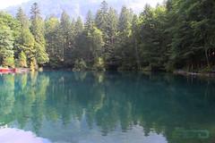 Blausee-7 (Fahad_Aljohani) Tags: blue lake water switzerland europe view swiss بحيرة bluesea blausee منظر ماء أزرق سويسرا زرقاء أوربا البحيرةالزرقاء