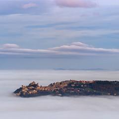 fog ... (©Andrey) Tags: sky italy mist fog clouds explore adriatic torriana explored ilobsterit