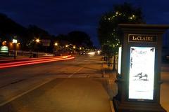 Cody Road 2 (alansheaven) Tags: street red night lights tail iowa kelby leclaire codyroad worldwidephotowalk