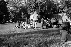 Tyler Park Jazz Fest (Rob Bultman) Tags: ilfordfp4 minoltacle id1111