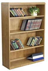 BBC5236MO_2 (RegencyOfficeFurniture) Tags: wood oak natural bookshelf storage bookcase regency veneer mediumoak openstorage belcino bbc5236 regencyofficefurniture