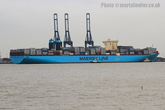 Majestic Maersk (mariafowler.co.uk) Tags: ship vessel container e majestic triple maersk triplee