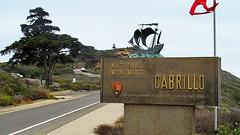 Cabrillo National Monument Entrance sign - Point Loma (Al_HikesAZ) Tags: california ca monument sign point san sandiego entrance diego national loma pointloma cabrillo cabrillonationalmonument entrancesign alhikesaz sandiego2013