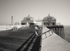One Thing Remains (Joe Palacios) Tags: ocean california sea blackandwhite bw love one pier fishing dock pacific god thing jesus olympus malibu pole adventure mount explore bible em1 mzuiko17mm18