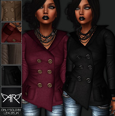 !!NEW!! AngelRED - FULL PERM Mesh Kody Peacoat (AngelRED Couture) Tags: 2013 3d angelred autodesk avatar baggy blender blouse boutique bow cami camisole clothing couture crawford derivable designer dress fashion full gaming heather hiner jeans lab labs lexi life linden long loose marvelous maya mesh mmo mmorpg model mudbox perm permission rig rigged rigging scarf second secondlife shirt skinnies skinny sleeved sleeves sweater tank top virtual winter world zelin coat pea peacoat trench short button band sleeve jacket