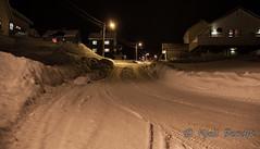Storbukt and snow (kjellbendik) Tags: norge vinter vei hus sne finnmark honningsvg bygning magerya byggning naturoglandskap storbukt nattmrketid snesn