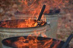 A Lifetime up in Smoke (Darren-) Tags: light ny newyork color landscape fire longislandny nikond5100