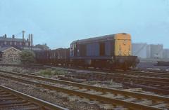 20.023 Barrow hill 3rd June 82. (54A South dock) Tags: 1982 hill barrow 20023