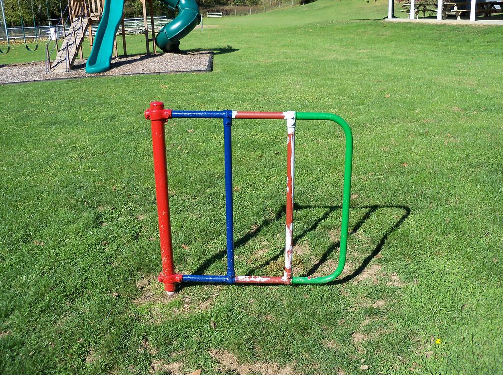 swinging gate play