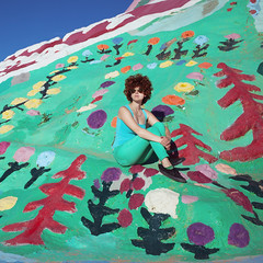becki_salvation_5525 (laurenlemon) Tags: california desert roadtrip salvationmountain laurenrandolph laurenlemon wwwphotolaurencom beckichernoff