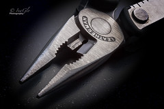 Pliers (digitalfailure) Tags: stilllife leatherman metal canon photography steel teeth product tool pliers multitool brianwoods 5dmk2 inaglo