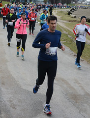 First Half Feb 16 2014 085641 (gherringer) Tags: canada vancouver race outdoors athletics downtown bc exercise britishcolumbia competition running seawall runners englishbay stanleypark colourful westend fit active bibs 211km 131mi vanfirsthalf 2014firsthalfhalfmarathon