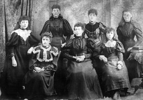 Staff of Millinery Shop Main Street Bridgeton 1900