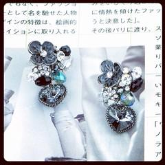 รหัสสินค้า PGER#1-006 ราคา 590 บาท ขนาดสินค้า ก.2 x ย.3 ซม. น้ำหนัก 5 กรัม  ติดต่อสั่งซื้อกับเราได้ที่ เว็บไซต์ – http://www.pataries.com/earrings.html Line – pataries_shop E-Mail – pataries@pataries.com Whatapp - 0831344077 เฟสบุ๊ค อินบ๊อก - http://www.f