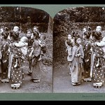 BABYSITTERS IN YOKOHAMA -- A Color Changing Image from OLD JAPAN thumbnail