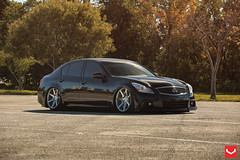 C38A1241 copy (VossenWheels) Tags: black japan lady sedan team suspension miami air jdm driven airride vossen g37 cv7