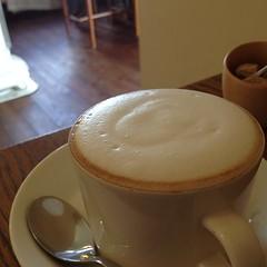 2013_02_02_05_ジンジャーとピクルスや (croro) Tags: cafe latte 4s 小田急 2013 東海大学前 130202 ジンジャーとピクルズや