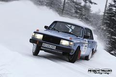sideways volvo (Martinotterstad.com) Tags: norway canon volvo rally nm 70200 240 rallycar hadeland 650d nasjonal