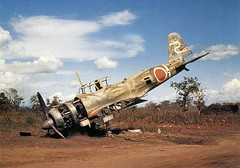 Mitsubishi Ki-51 TYPE 99 Assault Plane / Recon plane (Sonia)<br />三菱 キ-51 99式襲撃機 / 軍偵<br />Hollandia, Papua New Guinea. 1944.