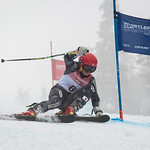 Ayaka TSUJI of Japan takes 4th Place in the U14 Girls GS Race held on Whistler Mountain on April 5th, 2014. Photo by James Cattanach - coastphoto.com