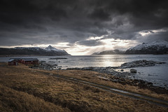 o v e r s e e | lofoten, norway (elmofoto) Tags: nordland norway norge fjord arcticcircle scandinavia archipelago lofoten islands leknes nikon d800 nikond800 elmofoto lorenzomontezemolo sunset landscape reflection sunblast rorbu rorbuer mountains snow peaks glare clouds rays sunrays godrays explore explored 500v 1000v fav10 fav20 fav30 fav40 fav50 fav60 fav70 fav80 fav90 fav100 fav200 granada fav300 travel travels fav400 50000v