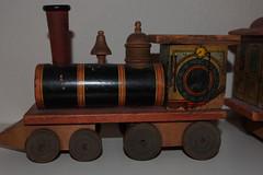 Vintage Toy Train (1800s) (photofan82) Tags: wood train vintage paper