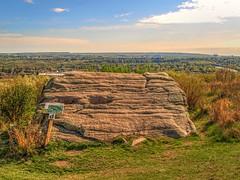 Living Under a Rock (MSVG) Tags: park canada calgary rock ridge alberta olympic cougar cougars