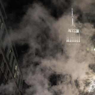 Behind vapor