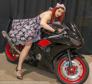 Mini-shoot with the lovely Glenna at the 208 Tattoo Fest