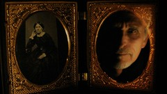 The Ghost & Mrs. Muir (Rand Luv'n Life) Tags: odc our daily challenge portrait reflective selfie antique union case carte de viste woman gilt frame mat ghost low lighting photographic history text thermoplastic indoor composition