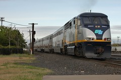 CTDX 2004 (ScholzRUNNER) Tags: emd f59 trains railroad amtrak capitolcorridor amtrakcalifornia rosevillecalifornia rosevilleyard f59phi