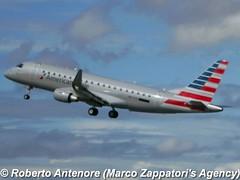 Embraer E-175 (E-170-200/LR) (Marco Zappatori's Agency) Tags: embraer e175 envoyair americaneagle prezi robertoantenore marcozappatorisagency