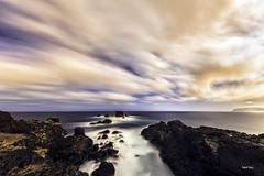 Una mirada al mar (libretacanaria) Tags: mar sea fisheye ojodepez samyang 12mm arucas grancanaria canarias thecanaryislands clouds longexposur largaexposición