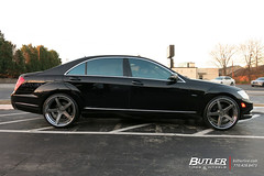 """Mercedes S550 with 22in Savini BM11-L Wheels and Vredestein Tires (Butler Tires and Wheels) Tags: """"mercedes s550 with 22in savini bm11l wheelsmercedes rimsmercedes rimss550 wheelss550 rims22in wheels22in rimsmercedess550mercedes s550savini bm11lsavini22in rimssavini wheelssavini rimsbutler tires wheelsbutler tire wheels rims car cars vehicle vehicles"""
