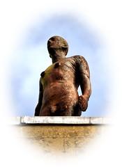 Another Time (R~P~M) Tags: art sculpture figure iron antonygormley oxford oxon oxfordshire england uk unitedkingdom greatbritain