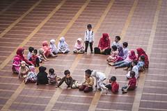 Take a Stand (Trent's Pics) Tags: istiqlal mosque children devout indonesia islam jakarta koran muslim prayer quran