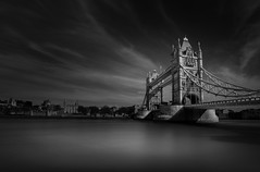 Tower Bridge (Billy Currie) Tags: london thames tower bridge capital river crossing long exposure south bank england