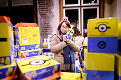 Minion 機動遊戲仲起緊呢, 就只有 minion shop (Steve Wan^_______________,^) Tags: osaka nagoya hong kong travel new year happy couple life