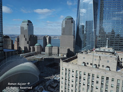 NYC - WTC Reflections 2017-03-124960 (FotoManiacNYC) Tags: nyc manhattan downtown newyork newyorkcity wtc worldtradecenter oneworldtradecenter freedomtower 1worldtradecenter theoculus september11memorial 911memorial 911 fultonstreet